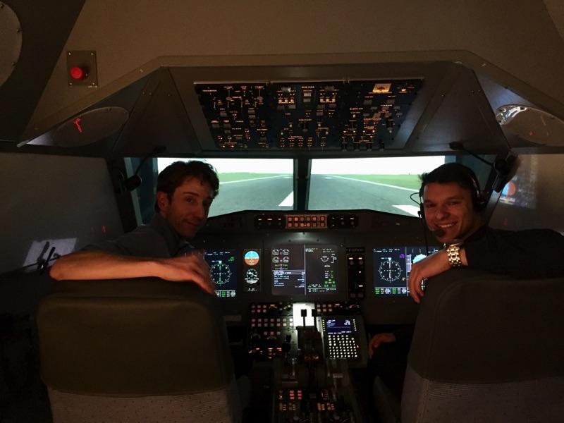 Benjamin GARAVEL, professional airplane pilot